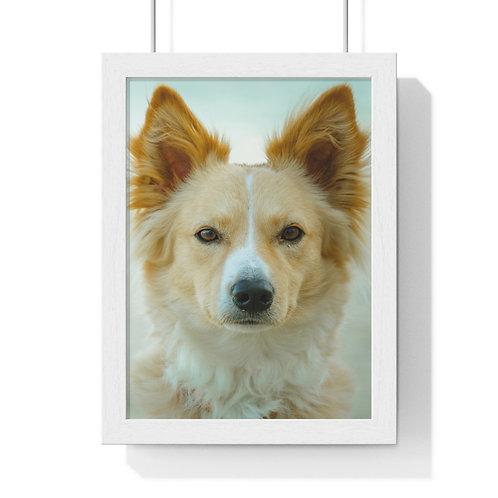 """""""Dog"""" Premium Framed Vertical Poster"""