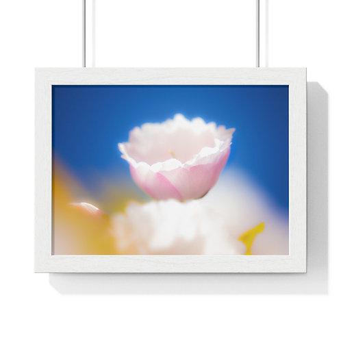 """""""Beauty blossom"""" Premium Framed Horizontal Poster"""