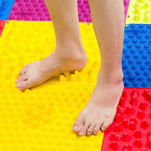 Large Colorful Acupuncture Foot Massager Medical Therapy Mat Foot Massage Pad