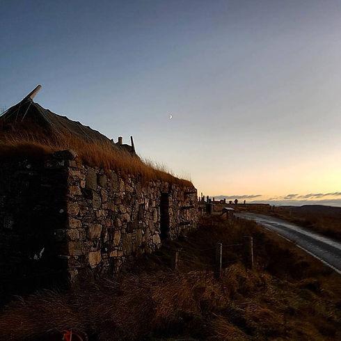 Blackhouse sunset.jpg