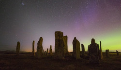 Cllanish Zodiacal Light and Aurora-2