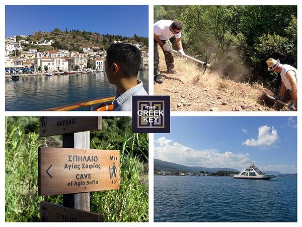 Make a Greek Path
