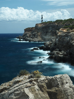 View of the Lighthouse Portinax Ibiza