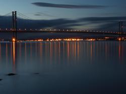 Forth Road Bridge Scotland