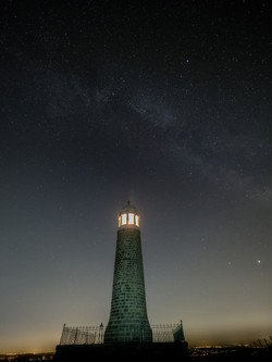 Milky Way over Crich Stand