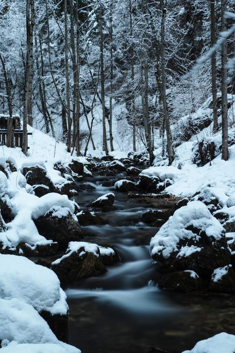 Fondo gorge stream