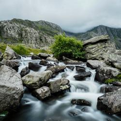 Stream out of Llyn Idwal