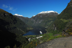 Geiranger from up above