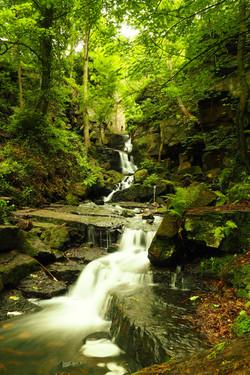 Lumsdale Valley, Derbyshire