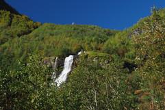 Brekkefossen waterfall Flam