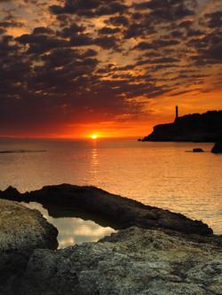 Sun breakthrough Portinax