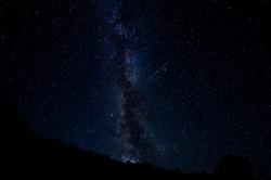 Milky Way fron the side of Llyn Ogwen