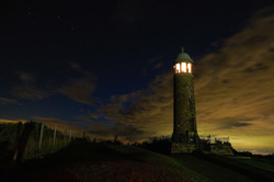 Crich Stand Night view