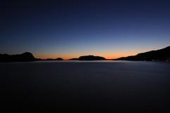 Sunset leaving Flam