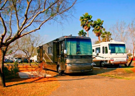 Winter RV travel destinations - Texas