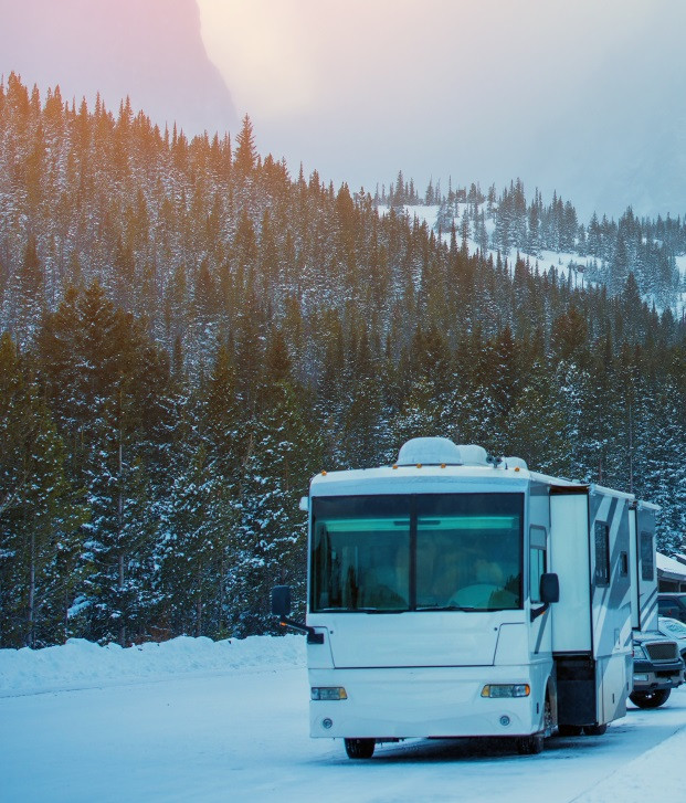 Rv travel during the winter