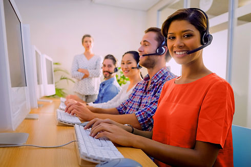 Contact Centre using Voyc