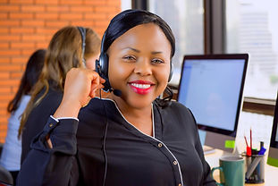 Black lady with headset_treated.jpg