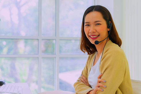 Contact Centre Agent working from home