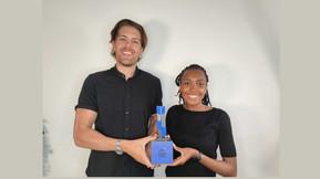 Voyc wins the 2021 Blue Tulip Award in the Finance & Prosperity category