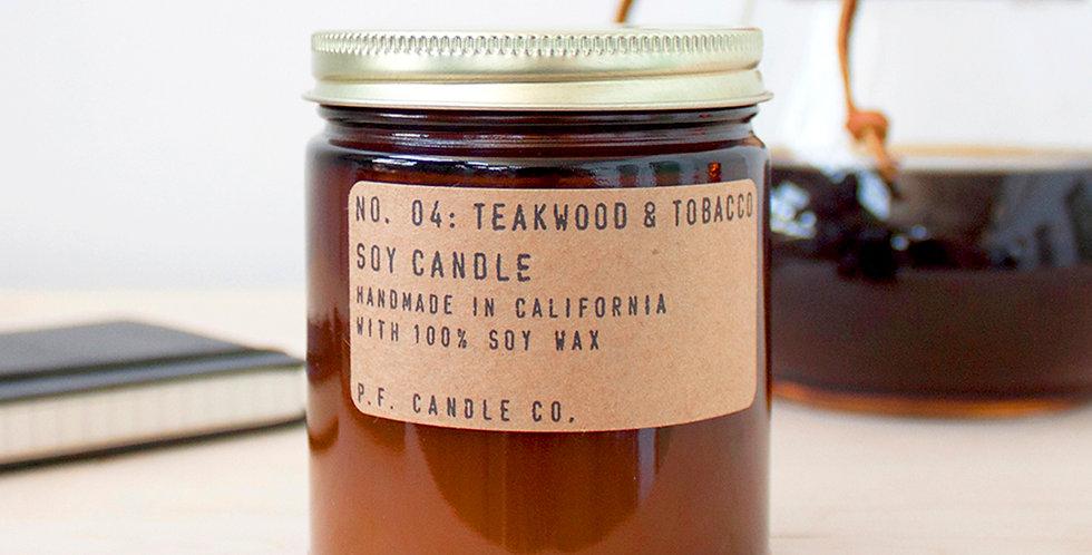 Teakwood & Tobacco P.F. Candle