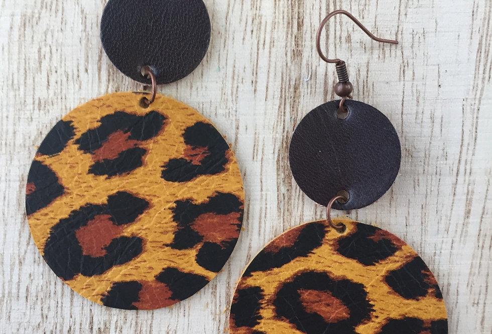 Panther Leopard Circles