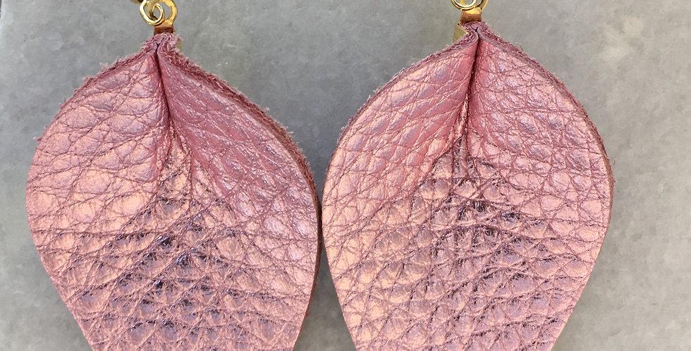 Metallic Pink Peony Petal