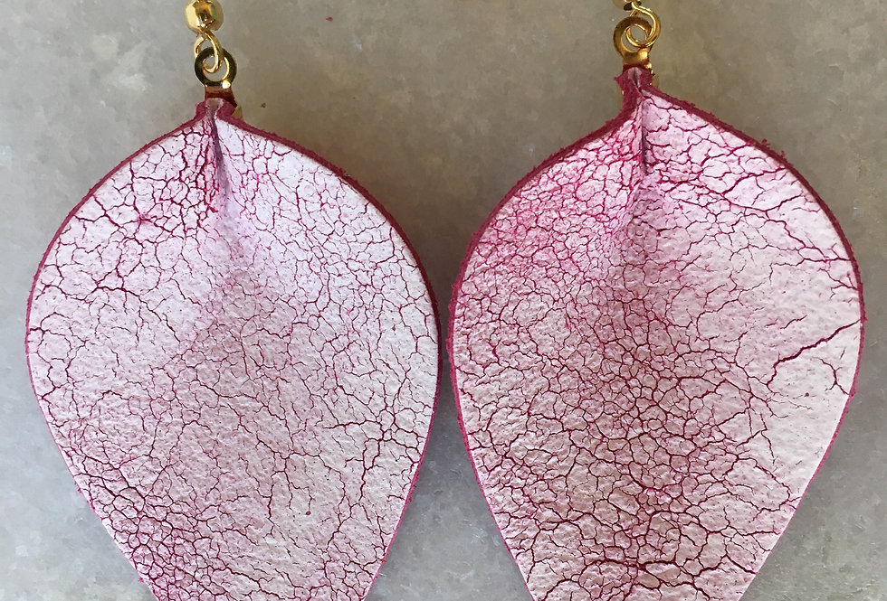 Antique Pink Leaf