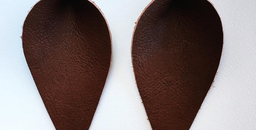 Jo Jo Leaf - Large Dark Brown