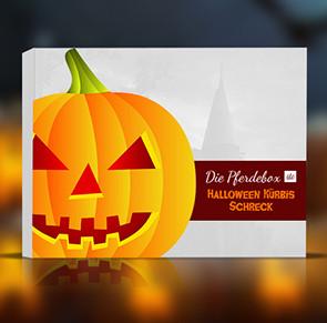 DiePferdebox Halloween Kürbis Schreck