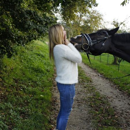 Abitur und Pferd