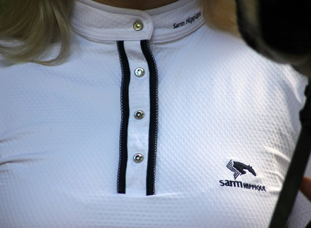 "Sarm Hippique Show Shirt ""Mary"""