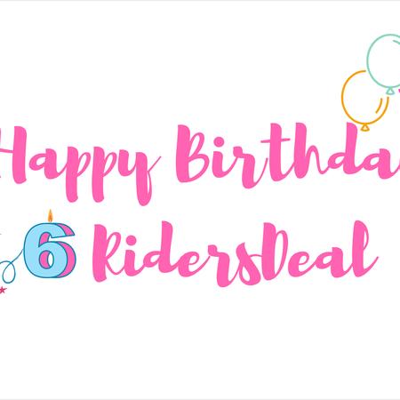 Happy Birthday RidersDeal