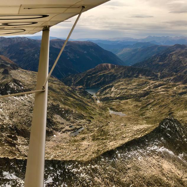 Vol montagne - Pyrénées - avion