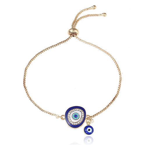 Evil Eye Bracelet (Dark Blue)