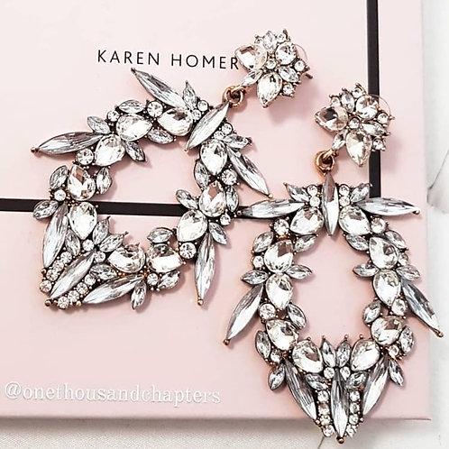 Aurora Earrings in Silver