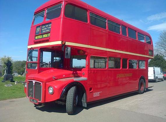 Double Decker Bus Hearse