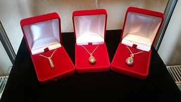 Cremation jewellery, ashes necklace, pendant for ashes, memorial ashes