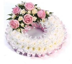Posie, funeral flowers, funeral posie, floral tributes, posie pad, spray, flowers