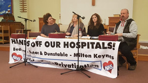Hands off our NHS: closure of Putnoe Walk-in Centre – public meeting