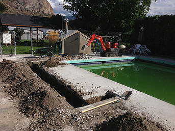 pool spa renovations service repairs maintenance plumbing skimmers returns equipment zep okanagan penticton