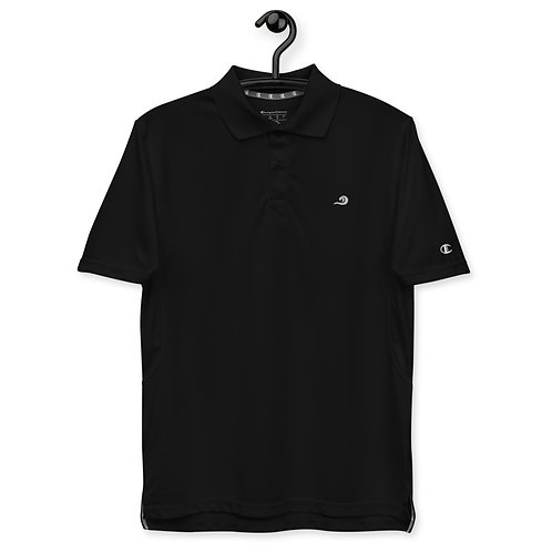 Minimalist Black Polo