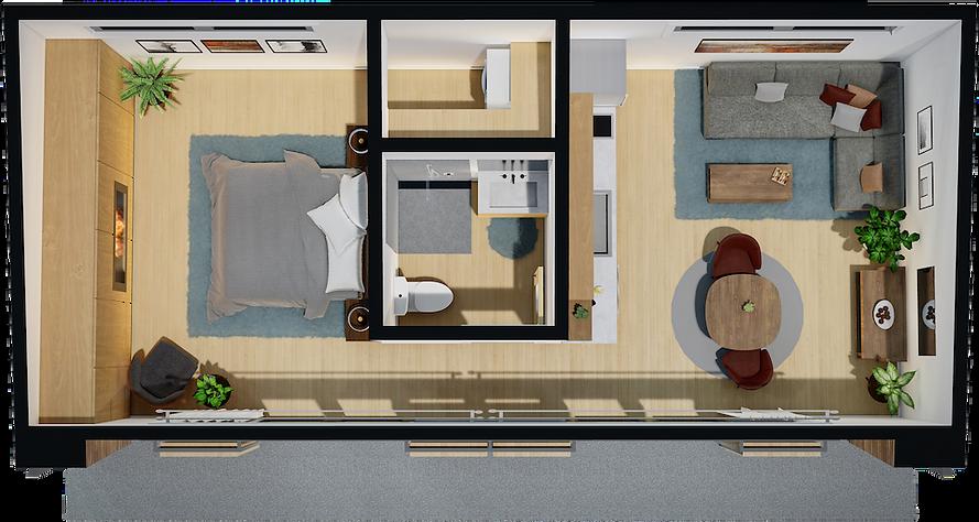 HAUS+ second unit ADU second unit floor plan