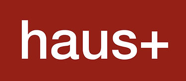 Logo of HAUS+ green sustainable fast easy prefab ADU company