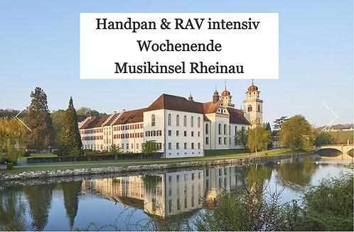 Handpan und RAV intensiv Wochenende Musikinsel Rheinau   03.09.21 - 05.09.21