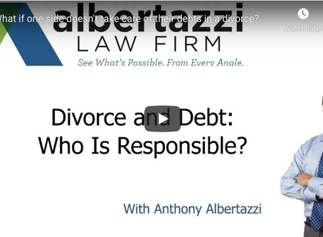 Divorce and Debt: Who Is Responsible? | Albertazzi Law Firm