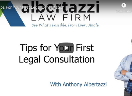 Tips for Your First Legal Consultation | Albertazzi Law Firm