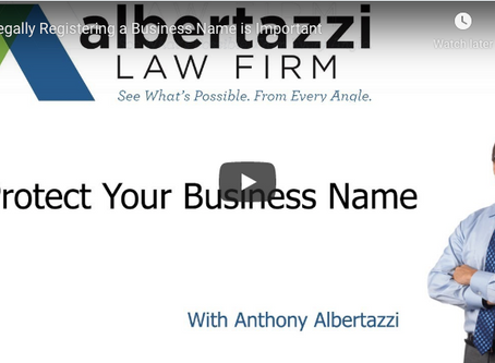 Protect Your Business Name | Albertazzi Law Firm