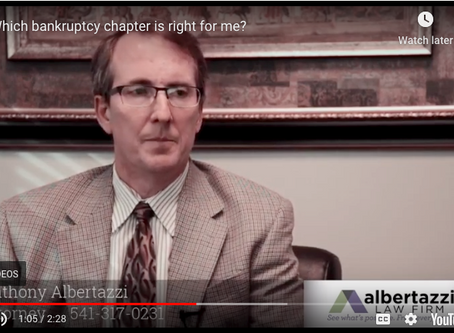Which Bankruptcy Chapter is Right For Me? | Albertazzi Law Firm