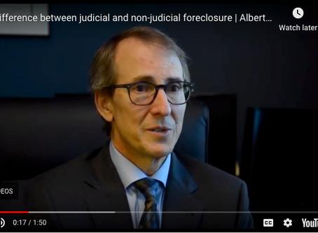 Judicial vs. Non-Judicial Foreclosure | Albertazzi Law Firm